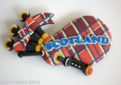 Fridge Magnet - Scottish Bagpipes - Great Gift - SCOTLAND Souvenirs