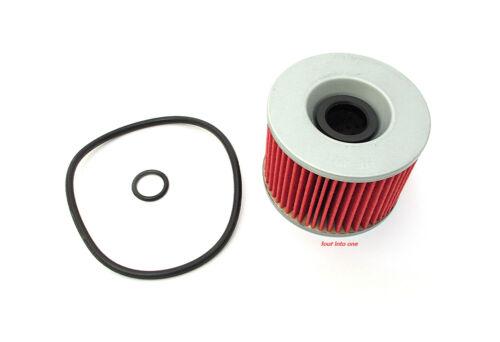 ✺ Hiflo Honda / Kawasaki Oil Filter With O-Rings • HF401 • 15412-300-024 ✺