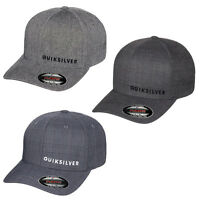 Quiksilver Sideliner Flexfit Hat Cap Surf Skate Flex Fit Quicksilver S/m, L/xl