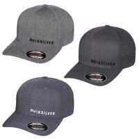 Quiksilver Sideliner Flexfit Hat Cap Surf Skate Flex Fit Quicksilver S/m, L/xl