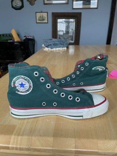 Made In Usa Christmas Converse Chuck Taylors Size