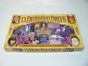 ORIGINAL 13 DEAD END DRIVE MYSTERY GAME - SUSPECTS TRAPS ONLY ONE SURVIVOR