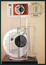 GERMANY MK NEW BAUHAUS MOHOLY-NAGY MAXIMUMKARTE CARTE MAXIMUM CARD MC CM bs22
