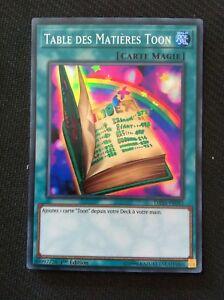 Super Rare Table des Matières Toon DASA-FR043 Yu-Gi-Oh