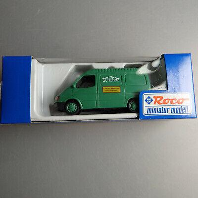 53970 Auto- & Verkehrsmodelle Aktiv Roco 1504 Schwarz Bau Ag Ford Transit Kasten Sprengstoff Modellbau