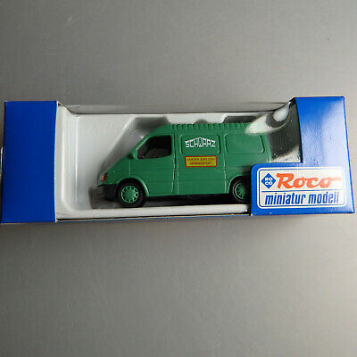 Aktiv Roco 1504 Schwarz Bau Ag Ford Transit Kasten Sprengstoff Baufahrzeuge 53970