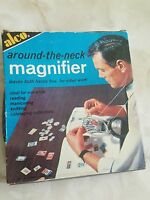 In Box Vintage Alco Around The Neck Hands Free Magnifier