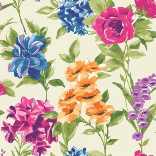 HOLDEN DECOR PETULA Floral 10 m papier peint blanc multi 98361