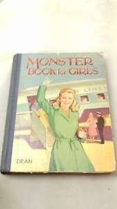 Monster-Book-for-Girls-by-Anon-Hardcover-Good