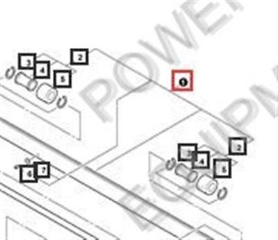 DRIVE Part# C504000360 Shindaiwa SHAFT Genuine Echo