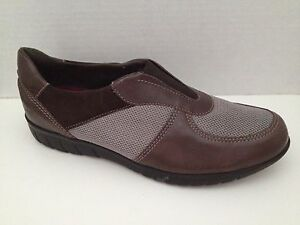 Munro-Shoes-Womens-Size-7-5-M-Brown-Sport-Loafer-Sneaker-7-1-2