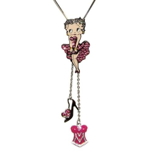 Betty Boop Cool Breeze Charm Necklace