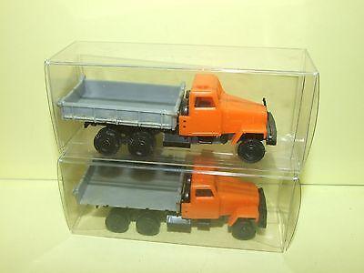 1//87 Miniature Camion à Benne Basculante Véhicule d/'ingénierie Modèle