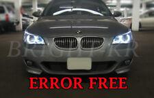BMW 5 SERIES E60 E61 PRE-LCI ANGEL EYE HALO RING LIGHT LED BULBS- PURE WHITE