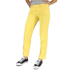 Murphy en pivoine Pantalon coton jaune Nye dEqwxUOnw