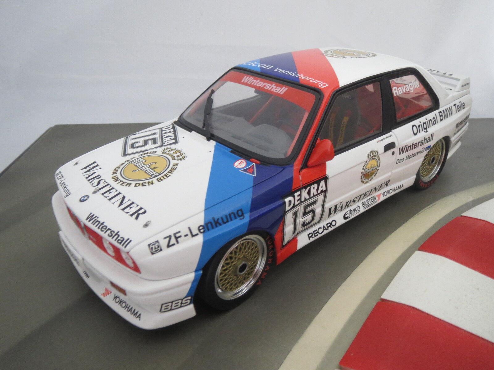 Point fort  BMW m3 distributeur modèle  étais une  en 1 18, MINICHAMPS, roberto ravaglia