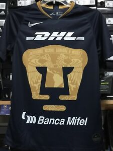 finest selection 8743a 45fae Details about Nike Pumas Unam Jersey Away 2019 Navy Nkue Size Large Only