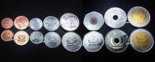 PAPUA NEW GUINEA UNC SET of 8 COINS 1 -2 -5 -10 -20 -50 TOEA 1 -2 KINA 2004 2008