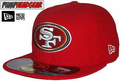 New Era 59Fifty NFL On Field San Francisco 49ERS 5950 Game Cap + Gift Box