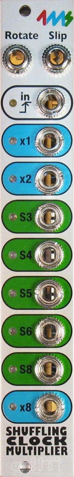 4ms Shuffling Clock Multiplier v2   Eurorack Module   NEW
