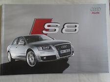 AUDI S8 gamma brochure APR 2006 TESTO TEDESCO