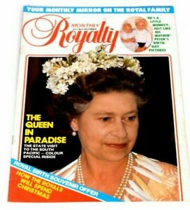 Royalty-Monthly-Magazine-Vol-2-No-6-Dec-1982-Queen-Royals-Charles-Diana-VINTAGE