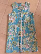 Lilly Pulitzer Originals Girls Shift Dress Little Lilly Size 14 Island Girls!