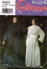 Simplicity Star Wars Padme Princess Leia Costume Pattern 4443 Size 14-20 UNCUT