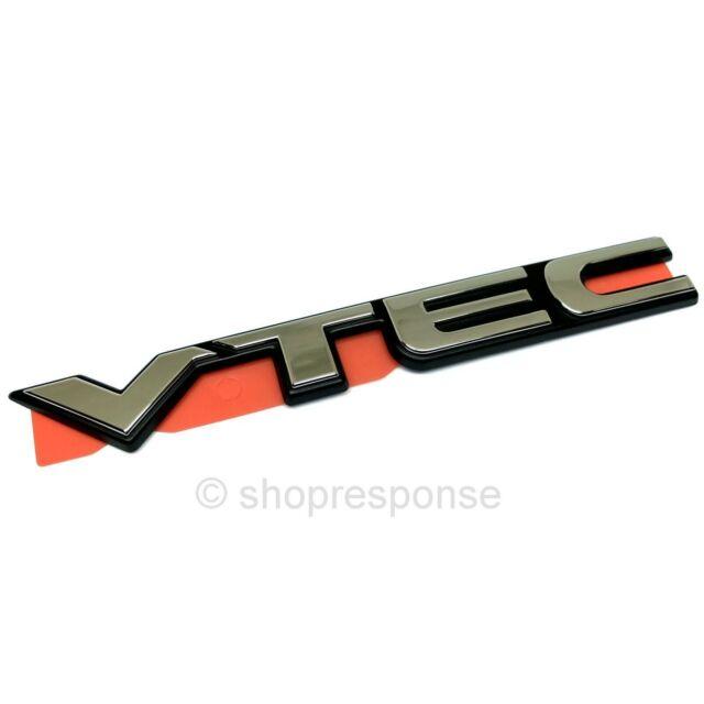 OEM Honda VTEC Emblem Badge Chrome Made in JAPAN 75725S04T00 Genuine Parts