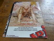 MADONNA - Publicité de magazine / Advert RE INVENTION !!!!!!!!!