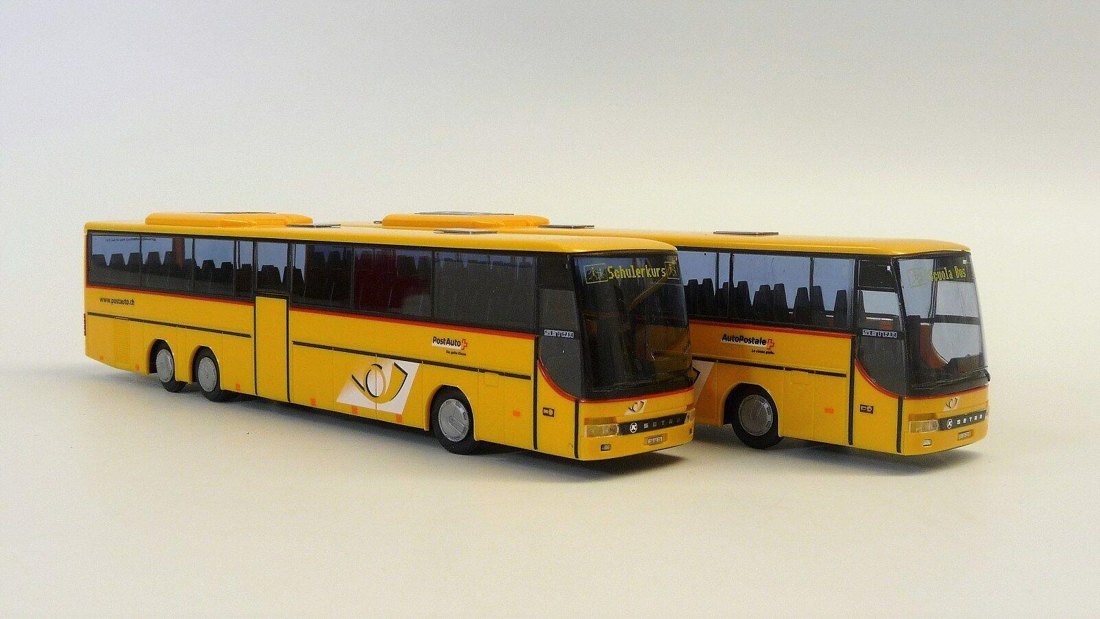 Precio por piso Setra 319 319 319 gthd post auto PTT  alumnos curso  o  Scuola bus  swissmodelle 1 87  100% a estrenar con calidad original.