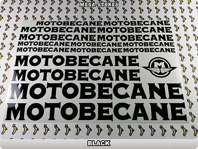 MOTOBECANE Stickers Decals Bicycles Bikes Cycles Frames Forks Mountain MTB 54Y