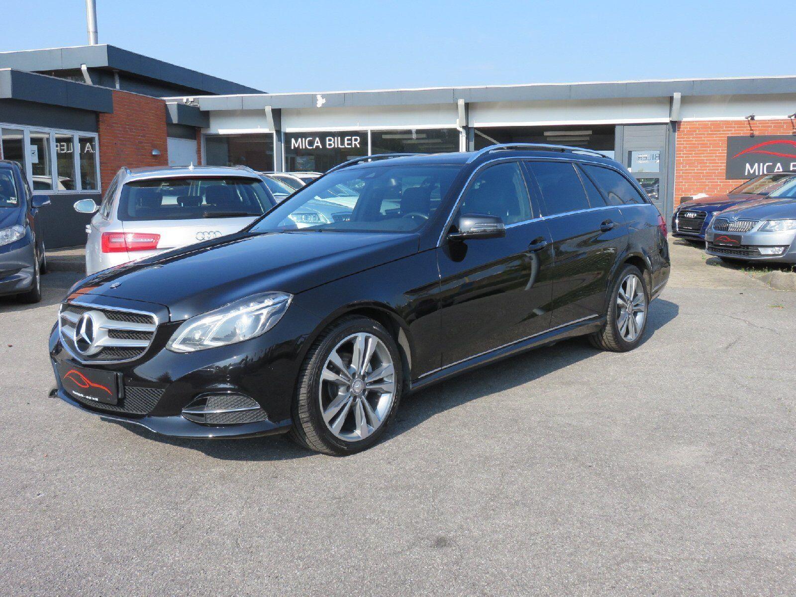 Mercedes E220 2,2 CDi Avantgarde stc. aut. BE 5d - 383.200 kr.