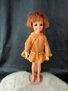 Vintage 1969 Ideal CRISSY Doll with Growing Hair & brandi bathing suit 1960s