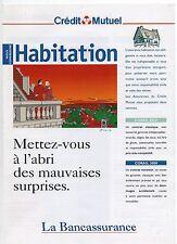 FLOC'H. Habitation.  Livret publicitaire Crédit Mutuel 1997