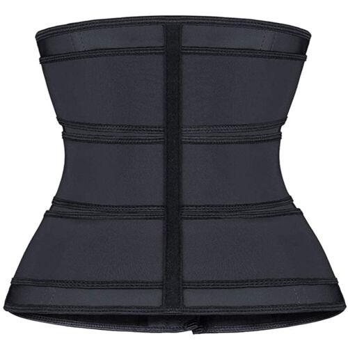 3 Belt Waist Trainer Cincher Trimmer Sweat Slimming Body Shaper Sauna Shapewear