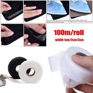 100meters-DIY-Sewing-Iron-On-Fabric-Roll-Liner-Wonder-Turn-Up-Hem