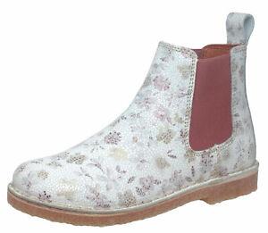 buy popular 86daa ef624 Details zu Bundgaard Chelsea Boots Stiefeletten Leder Cajsa mosaik weiss  Gr.31-39 Neu