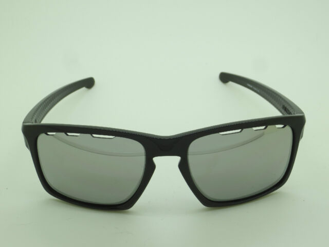 ddc57950ce6ad0 New OAKLEY SLIVER VENTED OO9262-42 Polished Black Chrome Iridium 57mm  Sunglasses