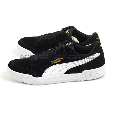 Puma Caracal SD Jr Black-White-Team Gold Junior Youth Lifestyle Shoes  370990 01 | eBay