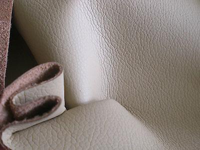 AUTO Kunstleder Lederimitat METERWARE Farbe Beige Narbung breite 140cm.