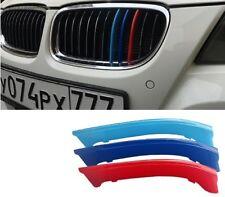 3 Colores riñón rejillas de plástico (12) Clips BMW serie 3 M Deportes E90 2009-2012