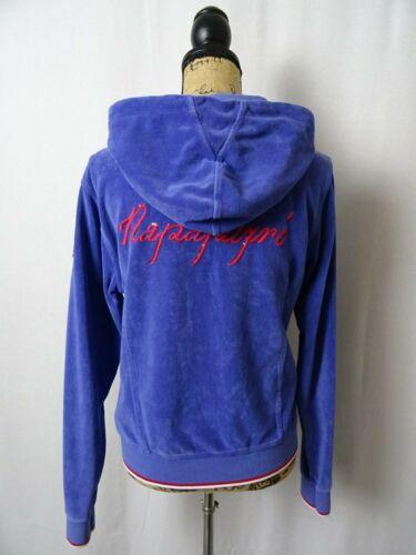 capuchon 12 Vtg fluwelen maat Damessweater cardigan met Napapijri zSqnwv0X