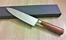 8″ Damascus Knife Japanese VG-10 16 Layers Hand Hammered Gyuto Chef's Knife