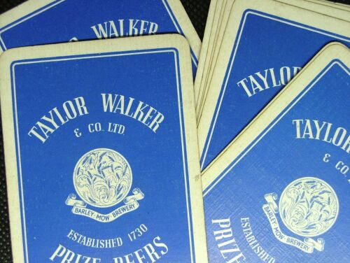1 X Playing Card Single Swap Taylor Walker Barley Mow Brewery Prize Beers Ipc112 Breweriana Playing Cards