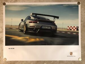 2017-Porsche-911-GT2-RS-Coupe-Showroom-Advertising-Sales-Poster-RARE-Awesome