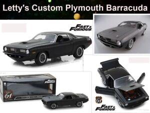 Fast-amp-Furious-7-Plymouth-Barracuda-Highway-61-escala-1-18-OVP-nuevo-Limited