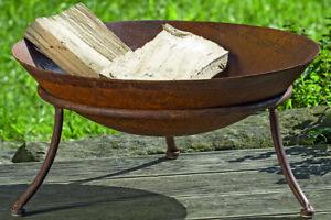 Bac à Feu Feu De Camp Jardin Terrasse Un Panier Brasero Décoration Coque Edelrost-afficher Le Titre D'origine Thvjhved-10044053-751964403