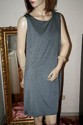 Apprensivo Shirt-vestito Grigio Argento Doppio Strato Meravigliosamente Scorrevole Più Facilmente Lucentezza Nw M-mostra Il Titolo Originale