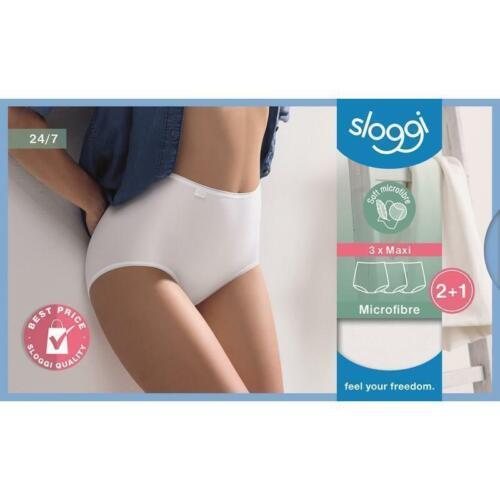 Sloggi taillenslip 24//7 Microfibre blanco 3er Pack talla 50